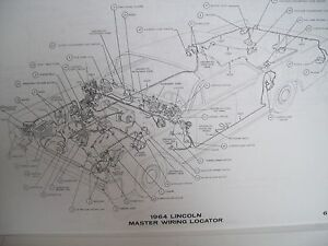 1963 Lincoln Continental Wiring Diagram Must Have Large Format 11x17