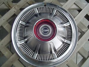 One Vintage 66 67 68 Galaxie Ford Pickup Truck Bronco Hubcap Wheel Cover 4 4