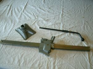 Original Gm Trunk Bumper Jack W Base Stand Tire Iron Wrench U Very Nice
