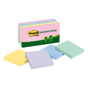 Post it Notes recycled 3 x3 12 pk ast Helsinki