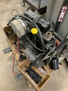 Jeep 134f Engine F134 Complete Motor Willys Kaiser Cj Mb Hurricane
