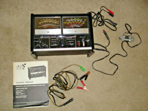 Sears Sequential Dual Meter Automotive Analyzer 161 2182 W Box Instructions