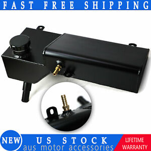 Aluminum Overflow Coolant Tank For 1996 04 Ford Mustang Cobra Gt Svt Mach I 4 6l