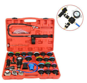 Master Radiator Pressure Tester And Vacuum Purge Cooling System Kit Adapter