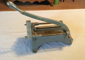 Vintage Shaver Specialty Co Keen Kut Shoe Stringer Potato French Fry Cutter Usa
