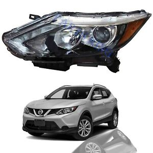 For 2017 2019 Nissan Rogue Sport Qashqai Halogen Led Headlight Assembly Driver