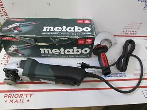 Metabo Wp 9 115 Quick 4 1 2 8 5 Amp Angle Grinder W Paddle Switch