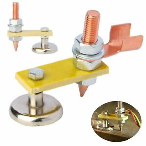 Hot Welding Magnet Head Magnetic Welding Support Ground Clamp Holder Adjustable