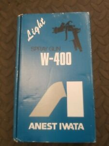 Anest Iwata Light Spray Gun W 400lv 144g Aa In Original Box