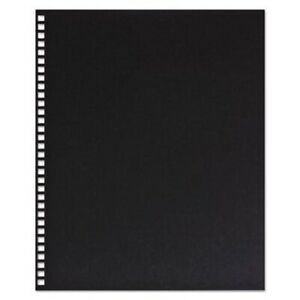 Swingline Gbc Punched Presentation Cover 11 X 8 5 Blk 25 Covers gbc2514478