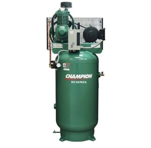 5 Hp Champion Air Compressor Vr5 8 Advantage Series 230v Single Phase