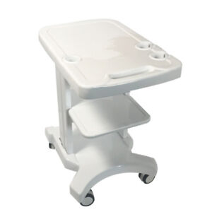Enhanced Mobile Trolley Cart For Portable Ultrasound Universal Trolley Cart New