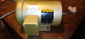 Baldor Reliance Motor 260v 460v Ac 1 Hp Continuous Duty Cycle