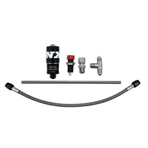 Nitrous Express 15605 Purge Valve Kit For Integrated Solenoid