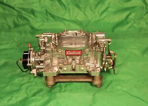 Edelbrock 1406 600cfm Carburetor W electric Choke