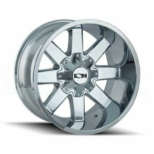 20x9 Chrome Wheels Ion 141 6x135 6x5 5 18 Set Of 4