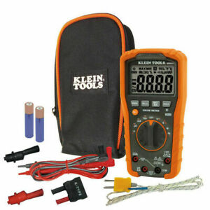 Klein Tools Tough Meter Automatic Lcd Multimeter Mm600 new free Shipping