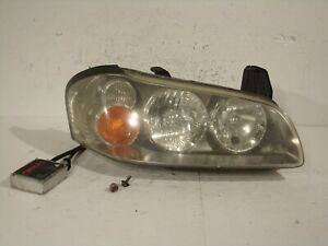 02 03 2003 Nissan Maxima Hid Xenon Passenger Right Headlight Lamp Lens 10502