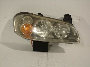 02 03 2003 Nissan Maxima Hid Xenon Passenger Right Headlight Lamp Lens 10503