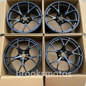 For Alfa Romeo Giulia Qv 20 Staggered Wheels Rims 20x8 5 20x10 5 Gloss Black