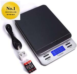 Fuzion Shipping Scale Accurate Digital Postal Scale 86 Lb 0 1 Oz Hold And Tare