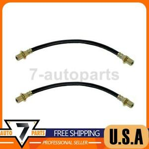 Raybestos Brakes Front Brake Hydraulic Hose 2x Fits 1984 1995 Pickup