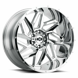 20x12 Chrome Wheel Vision 361 Spyder 8x180 51 1