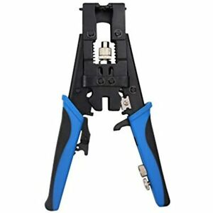 Shahe 3 In 1 Coax Cable Crimper With Wire Cutters Multifunctional Compression F