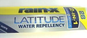 Rain x 28 Latitude Windshield Wiper Blade 5079282 1 Water Repellency
