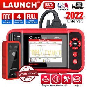 Launch Crp123 Obd2 Scanner Abs Srs Transmission Code Reader Car Diagnostic Tool