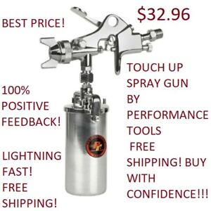 Touch Up Spray Gun 1 6 Mm Siphon Feed Performance Tool M578db Paint