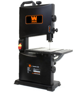 Band Saw Table Top Benchtop Portable 2 8 Amp 9 Inch Woodworking Bandsaw Shop Wen