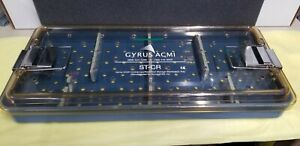 Gyrus Acmi St cr Plastic Cystoscopy resection Sterilization Tray