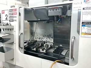 2007 Haas Vf 2d Vertical Cnc Machining Center Tooling 4th Axis