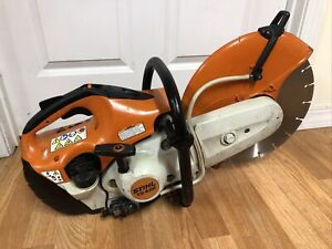 Stihl Ts420 Gasoline Concrete Saw W New 14 Diamond Disk