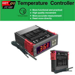110v 220v Stc 1000 All purpose Temperature Controller Thermostat Aquarium Sensor
