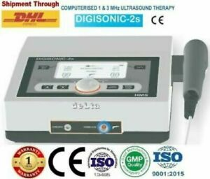 Digisonic 2s Ultrasound Therapy Physiotherapy 1mhz 3mhz Pain Relief Unit Model
