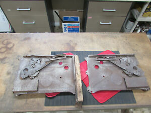 Original Genuine 1932 Ford Fordor Rear Window Regulator Interior Panel Set