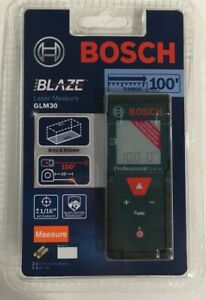 Bosch Glm 30 100ft Laser Measure Brand New In Package
