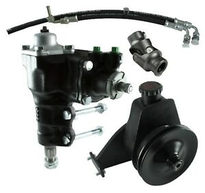 Borgeson 999060 Power Steering Conversion Kit Fits 66 74 Bronco
