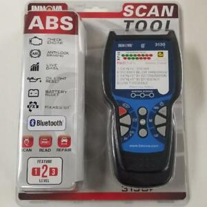 Innova 3130f Code Reader Scan Tool Obd2 Abs Srs Bluetooth Functionality