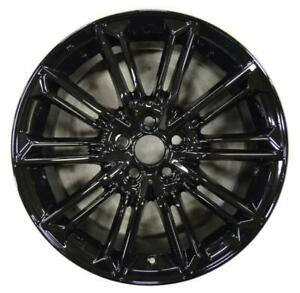 1 Wheel Rim For Avalon Recon Oem Nice Pol blk Free Shipping