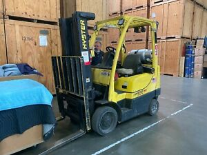 Hyster 50 Forklift Fortis S50ft 5000 Lbs 189 Lift Height