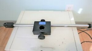 Olympus Stereo Microscope Head Sliding Boom Arm With Linear Motion Ball Bearings