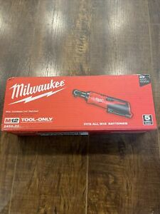 Milwaukee 2456 20 M12 Cordless Redlithium Variable Speed Trigger 1 4 Ratchet