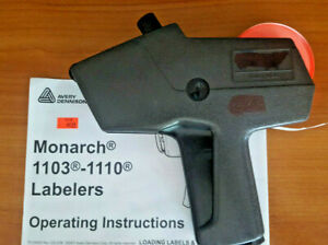 Genuine Monarch 1110 Labeler Pricing Gun With Instructions Preowned