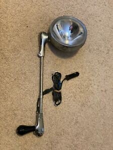 Unity 325 380 Police Car Spotlight Vintage Rat Rod Light Good Working Shape