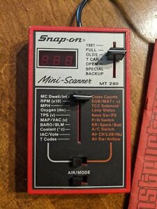 Snap On Mini Scanner Mt280