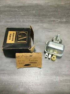 Nos Gm 1959 1963 Pontiac Horn Relay And Battery Cable Junction Block Buick Olds