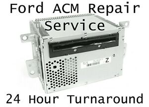 2010 Ford Mustang Acm Radio Stereo Audio Control Module Mail in Repair Service